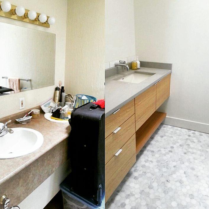 Bathroom Transformation Design One Stevens